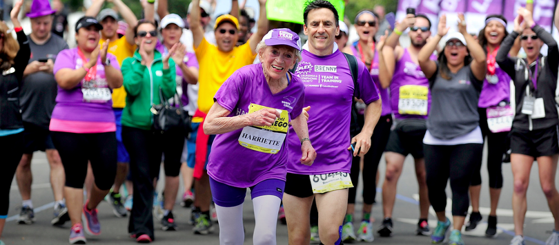 William James Said It First   Image: 92-year old Harriette Thompson completes 26-mile race  in 7 hours, 7 minutes and 42 seconds   Credits: Getty Images via CNN