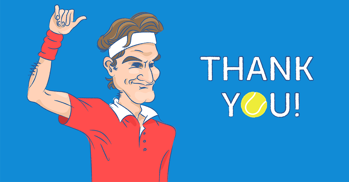 Roger Federer and his secret of being a tennis champion