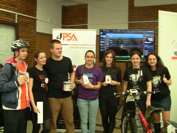 The Bike to the Cloud Challenge Winners