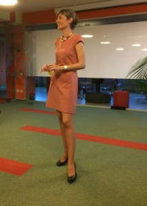 Iulia Feordeanu, Psychotherapist, Parenting Instructor and Manager of Asociatia Sol Mentis