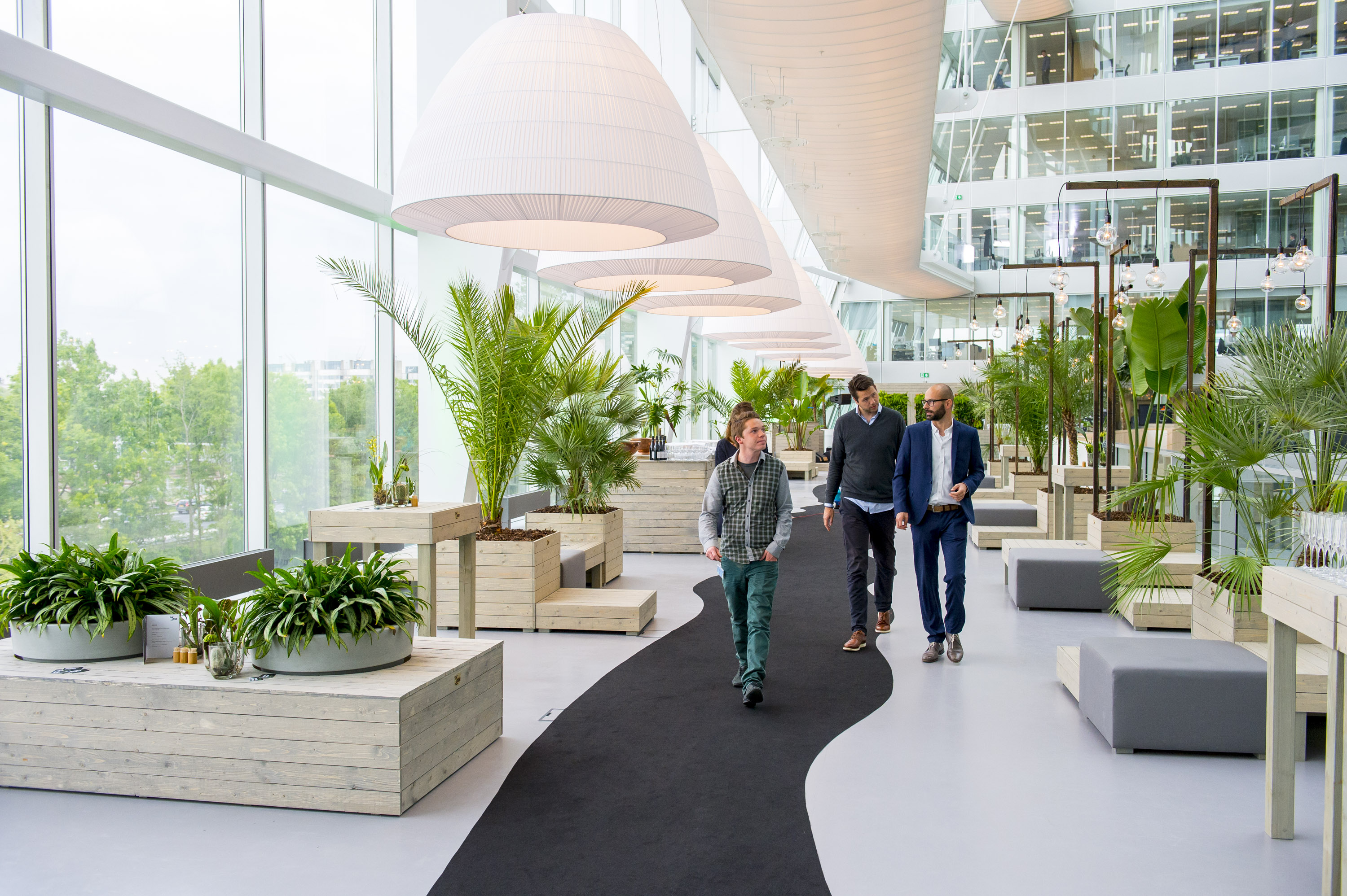 The Edge (Amsterdam) is the world's most sustainable office building in the world. OVG Real Estate, in partnership with Deloitte, opened the building earlier this year | Credits:gresb.co
