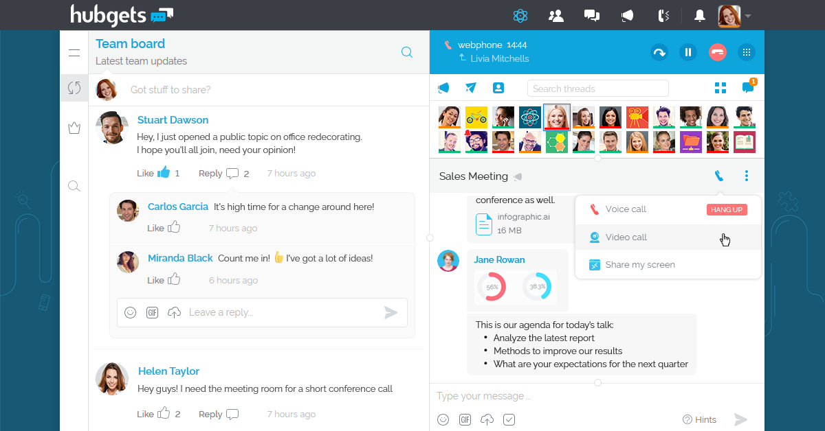 How to improve productivity in a virtual meeting