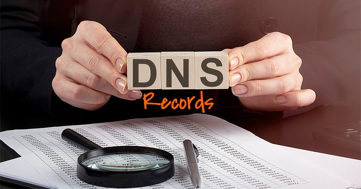 Types of DNS records