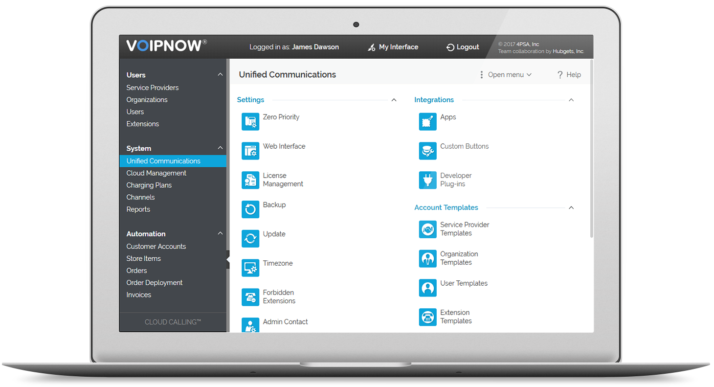 VoipNow Platform - Unified Communications for Service Providers